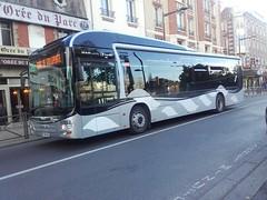 Transdev TRA Man Lion's City hybride EE-784-WV (93) n47053 (couvrat.sylvain) Tags: transdev tra transport rapide automobile bus autobus man lions city hybride aulnay sous bois villepinte
