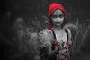 ... (AGraddyPhoto) Tags: canon canoneos6d canonef50mmf18stm adamgraddyphotography agraddyphoto littleredridinghood halloween flickr blackandwhite daughter portrait child