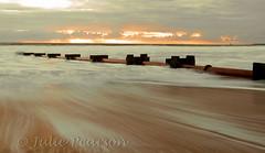 on the move (jules 500) Tags: blythbeach dawn sunrise northumberland coast sea waves sand pipe canon october 2016 blyth beach