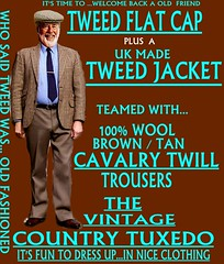 the Country Tuxedo wear tweed 9 (Ban Long Line Ocean Fishing) Tags: countrytuxedo tweed tweedjacketphotos tweeds tweedjacket tie twill texture tweedcoat trousers classic clothing canon coat country christchurch cavalrytwill cavalry nz newzealand napier nelson wellington blazer bloke guy cap clothes tweedcap flatcap scottish scotland uk british britain english england mens man mensfashion menswear hastings hamilton harris text houndstoothtweedjacket houndstooth harristweeds candid countrytweeds cavalrytwilltrousers coatjacketjacketcoats color retro oldschool old older