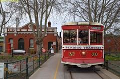 30_1d_Bendigo_2Sept2016 (nzsteam) Tags: bendigo tram talking workshops depot birney mmtb w8 street running