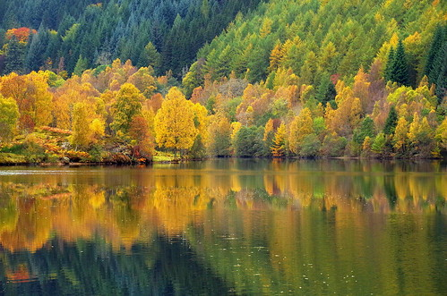Loch Tummel Autumn Colours