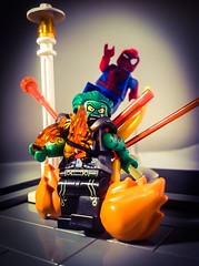 I done a little spin on the Goblin, I hope you guys like it! Also tuen in next week for issue#3! (Lego Creationist) Tags: lc verse spiderman spider man marvel green goblin charlie weidrman lego
