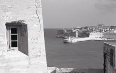 La Valletta Malta 2013 (marzo ph.) Tags: lavalletta malta port beach sun mediterranean city daniele marzocchi marzoph 35mm ilford delta 100 pro istillshootfilm staybrokeshootfilm buyfilmnotmegapixels filmphotographic anagol