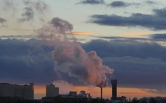 Sweet (jehazet) Tags: zonsondergang sunset suikerfabriek sugarfactory