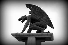 Spagna 13 (pjarc) Tags: europe europa spagna spain espana valencia 2016 statue statua figura bw photo digital nikon dx