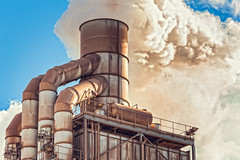 Pollution (franco nadalin) Tags: chemical atmosphere chimney dioxide emissions environment factory industry pipe plant pollution smog smoke smokestack toxic tube