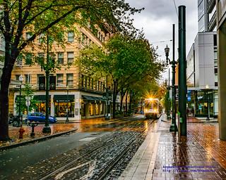 Typical Autumn Scene in Portland