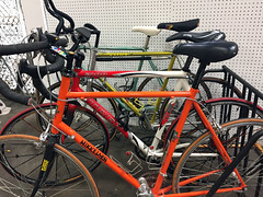 SPORTS:  4 Road Bicycles, Mikkelsen, Vitus, Raleigh and Trek 2100.