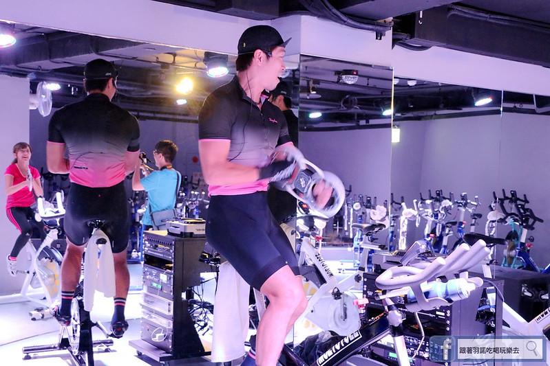 台北松山南京復興站健身房  MUZICYCLE 飛輪拳擊課程178