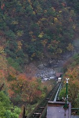 Approach to the hot spring at the bottom of the vally (YUICHI38) Tags: hotspring vally
