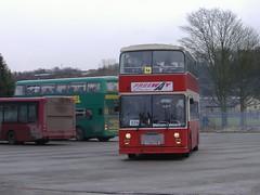 Freeway F99STB Alfreton (Guy Arab UF) Tags: freeway coaches f99stb dennis dominator east lancs bus mortimer wilson school alfreton derbyshire buses warrington borough transport 99