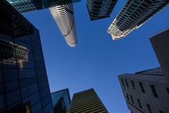 architectural convergence (Keith Midson) Tags: brisbane city architecture buildings building up australia