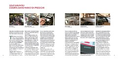Work in progress: the only remaining press car (Pim Stouten) Tags: jag jaguar xj40 xj book pages teaser