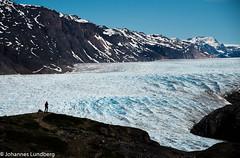 View over Kuussuup Sermia (JohannesLundberg) Tags: people location glacier greenland northamerica manuela gl narsarsuaq kujalleq kuussuupsermia kalaallitnunaatlowarctictundra kujalleqkommune