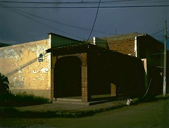 What Lurks (brian.aldaco) Tags: mexico polaroid jalisco streetcorner oldtown sayula landcamera