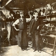 Robert Frank Smith and Alfred Holeman, Clayton Iron Works (The Wright Archive) Tags: robert frank smith alfred holeman clayton iron works peckham south london uk 1924 workshop vintage photograph ironmongers wright archive
