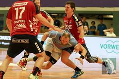 "DHB Pokal Bergischer HC vs. TV Hüttenberg 16.08.2015 100.jpg • <a style=""font-size:0.8em;"" href=""http://www.flickr.com/photos/64442770@N03/20628973706/"" target=""_blank"">View on Flickr</a>"