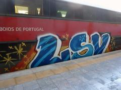 Graffiti in Lisboa 2013 (kami68k []) Tags: train graffiti lisboa illegal lissabon bombing bunt 2013 lsv