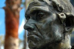 Jean d'Aire (EmperorNorton47) Tags: california summer sculpture art bronze digital photo losangeles afternoon exterior outdoor publicart sculpturegarden lacma augusterodin losangelescountymuseumofart jeandaire