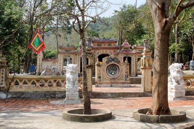 Đền thờ Liễu Hạnh Công Chúa ở Quảng Bình