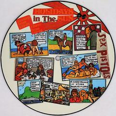 Sex Pistols - Holdays In The Sun (Leo Reynolds) Tags: xleol30x squaredcircle picturedisc picture disc 45rpm record single vinyl platter 7inch sqset121 canon eos 40d xx2015xx sqset