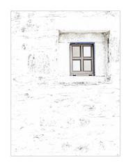 0620ahb  Church Window (foxxyg2) Tags: hk colour church churches chapels greece highkey greekislands cyclades naxos islandhopping islandlife