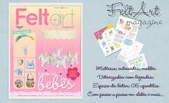 FeltArt Magazine (Mamma Mia Handmade) Tags: mobile felt infantil bebe feltro lembranças moldes feltrine