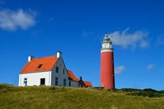 Vuurtoren 'Eierland' (l-vandervegt) Tags: lighthouse holland color colour netherlands wadden waddeneiland nikon nederland paysbas vuurtoren texel noordholland niederlande eiland 2015 paísesbajos cocksdorp belanda paesibassi d3200 eierland niderlandy