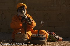 Snake Charmer of Sindh- Photo by Bilal Javaid