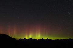 Aurora from Mt. Baker (Texas. Ranger) Tags: stars baker aurora northernlights mtbaker