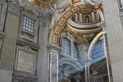 Light (alessandro.russo91) Tags: city winter light panorama vatican rome roma art church beautiful canon landscape eos interior basilica sacral capital vaticano michelangelo 100d