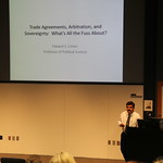 Dr. Cohen presenting at Faculty Forum