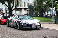 Bugatti Veyron Or Blanc (Chris Photography.) Tags: summer cars car canon or montecarlo monaco mc hermitage bugatti blanc supercar spotting supercars orblanc chrisphotographymc