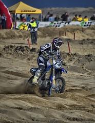Motocross (SalvaMarc) Tags: man beach colors race drive sand pentax tamron motocross 73 k50 80210mm pentaxiani