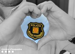 Dia Mundial del Cor (Mossos. Generalitat de Catalunya) Tags: escut uniformitat