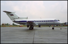 RA-87621 - Moscow Ostafyevo (UUMO) 19.08.2001 (Jakob_DK) Tags: 2001 yak moscow codling yakovlev osf yak40 yakovlev40 ostafyevo yak40k uumo mapsaratovapo aircraftproductionassociationsaratov