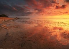 Morning Reflection | Pantai Karang Sanur, Bali (Fakrul J) Tags: bali indonesia sanur sonymalaysia pantaikarang a7rii