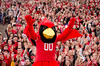 Homecoming_Redbird_Football_2015_141 (Illinois State University) Tags: football illinois athletics homecoming reggie redbird 2015 illinoisstateuniversity illinoisstate ilstu illinoisstateproud backthebirds