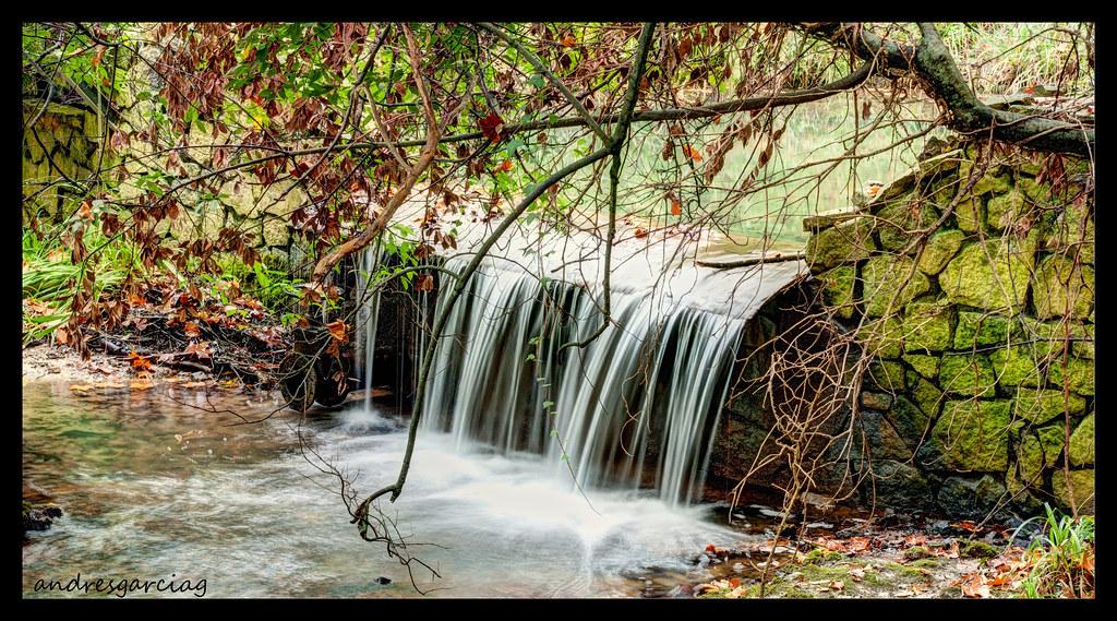 jardin botnico cascada andrs garca gonzlez tags espaa rio river waterfall agua jardin