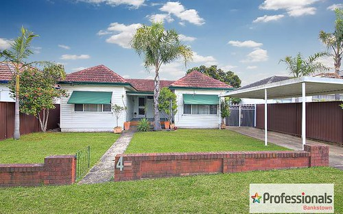 4 Fifth Avenue, Condell Park NSW 2200