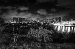 Luzes da cidade (felipe sahd) Tags: city cidade brasil noiretblanc fortaleza ceará 123bw