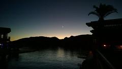 . (Ms. Jen) Tags: arizona sky twilight dusk coloradoriver newmoon parker lumia1020 nokialumia1020 moovalyakeys
