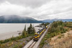 General Purpose Power (sullivan1985) Tags: trip alaska ak september turnagainarm freighttrain thefinalfrontier 2015 emd birdpoint gp402 electromotive