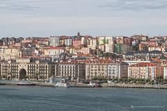 SANTANDER (mark_rutley) Tags: travel vacation urban holiday art port spain paint harbour painteffect touring santander