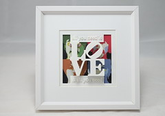 Love with the Beatles 1 (Georg Kreuter) Tags: music white 3d 60s popart beatles blender rocknroll 3dprinting robertindiana yellowsubmarin shapeways