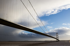On the Humber (Stevie Borowik Photography) Tags: road bridge art canon river lens foot december suspension north sigma lincolnshire single toll 7d 1981 vehicle l hull seventh f18 longest 7th f28 span humber 2470mm 2015 humberside 1835mm 550d 120300mm