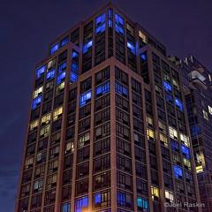 Luminaire Gramercy (Joel Raskin) Tags: nyc blue windows night buildings square 11 gramercypark gramercy apartmentbuildings luminaire 1stave a7ii e23rdst postluminaria a7m2 sel35f18 ilce7m2 3851stave 385firstavenue