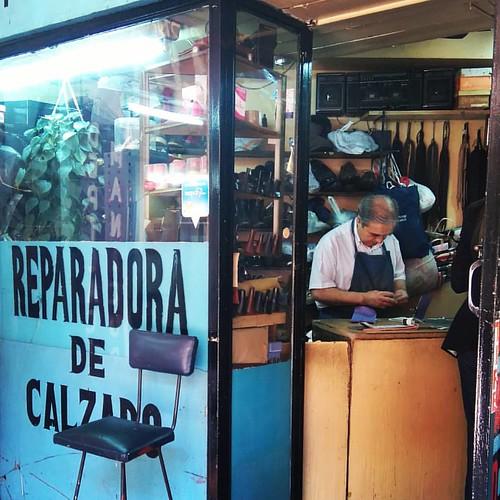Reparadora de calzado 👟 ☺ #santiago #Chile #providencia