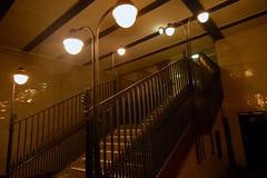 U-Bahnhof Klosterstrasse (Stephan Rasp) Tags: berlin stairs dark ubahn